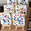 Splatter Paint Cookies