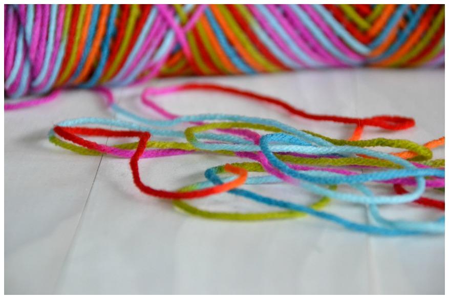 yarn tassle