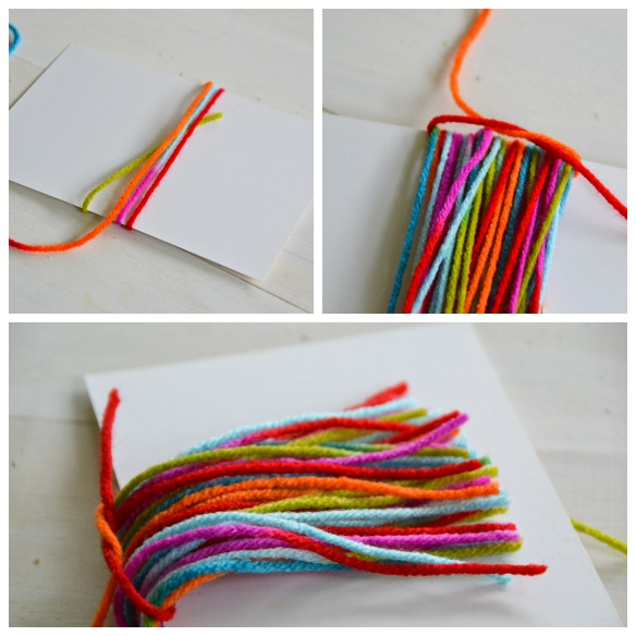 yarn tassle tutorial