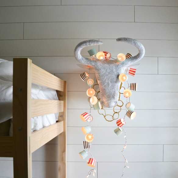 baking cup string lights
