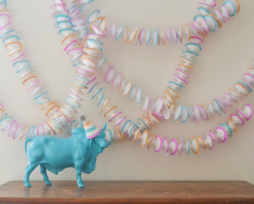 cheap easy garland