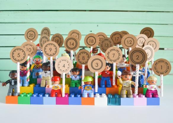 Lego duplo advent calendar jacks and kate - Adventskalender duplo ...