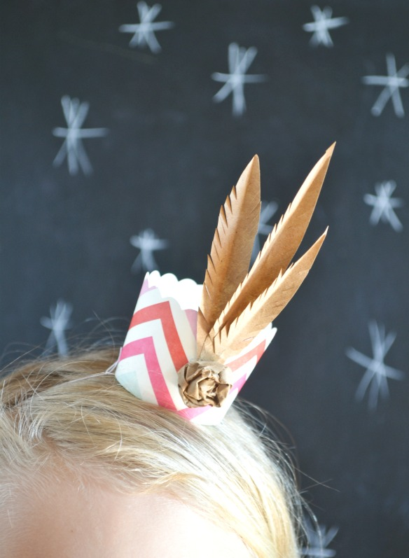 feather crown tutorial