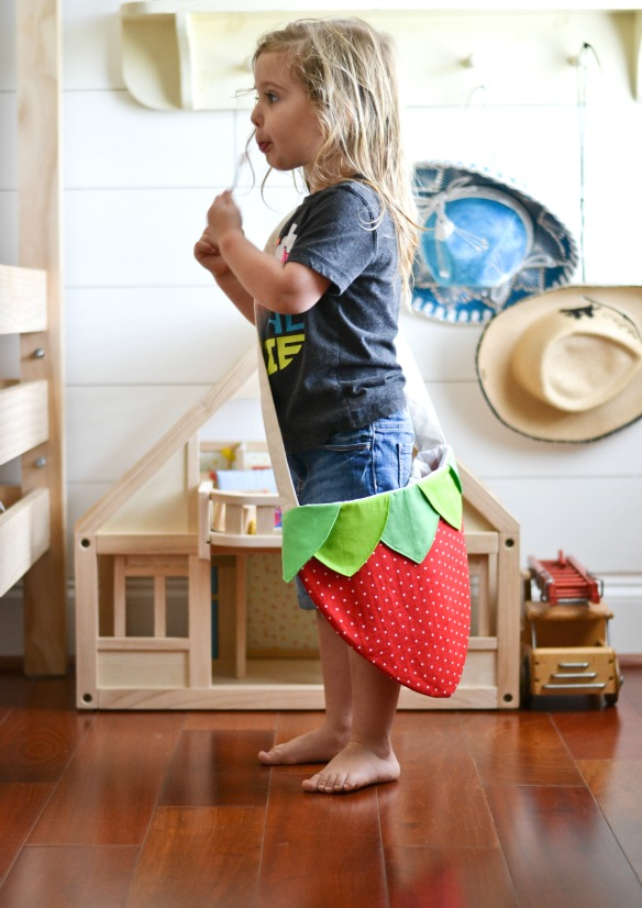 Strawberry Purse or bag for little girls