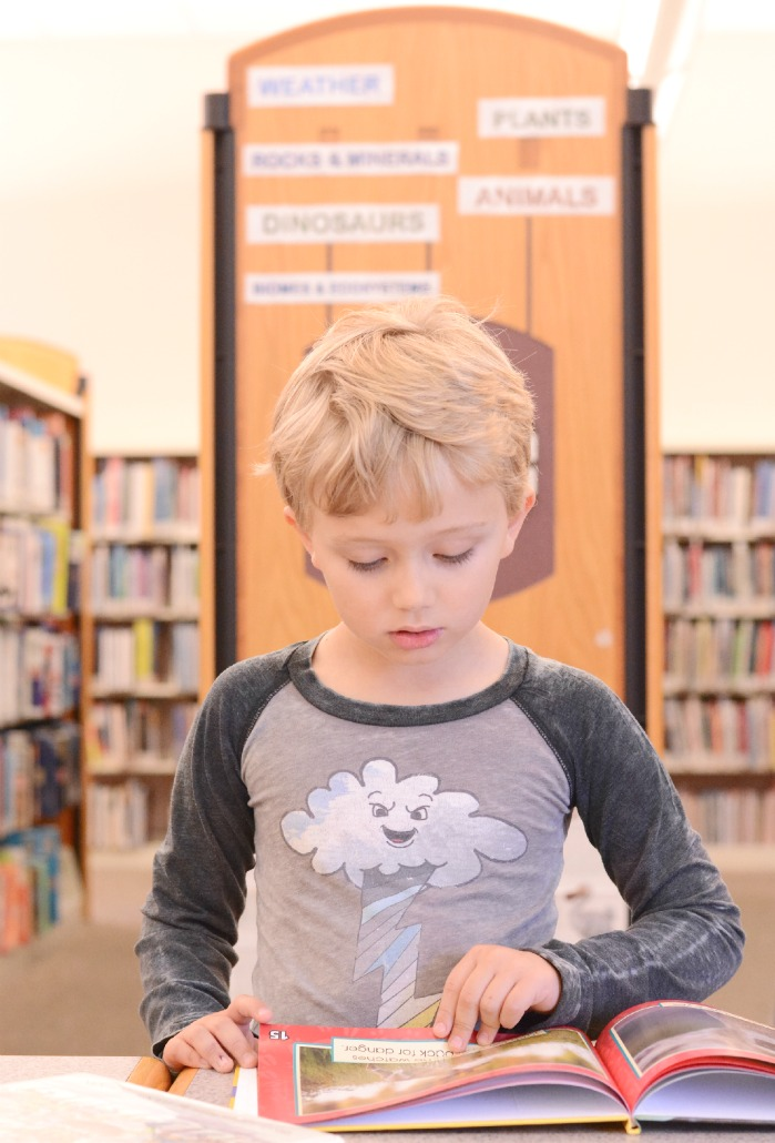 library homeschooling