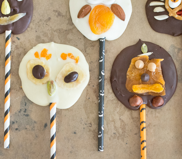 halloween trailmix lollies for kids